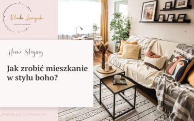 Jak zrobić mieszkanie w stylu boho?